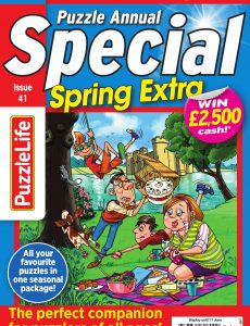 PuzzleLife Puzzle Annual Special – Issue 41 – May 2020