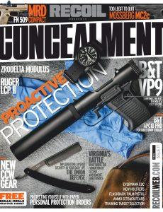 RECOIL Presents Concealment – May 2020