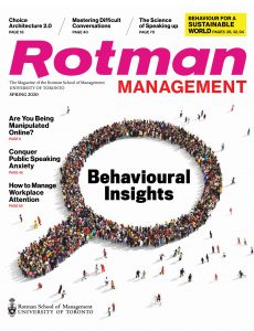 Rotman Management – Spring 2020