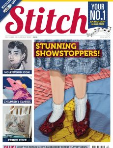 Stitch Magazine – Issue 122 – December 2019 – January 2020