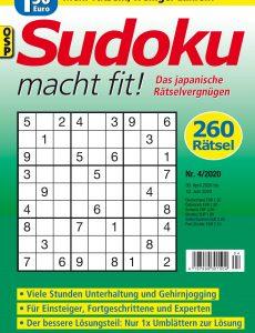 Sudoku macht fit – Nr 4 2020