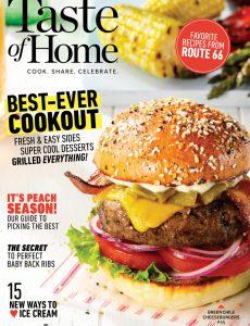 Taste of Home – June-July 2020
