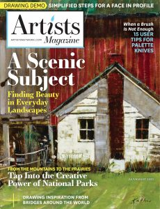 The Artist's Magazine – July-August 2020