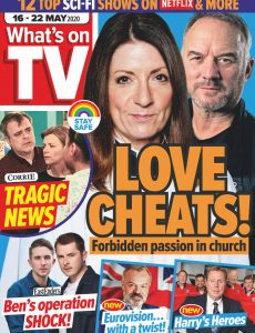 What's on TV – 16 May 2020