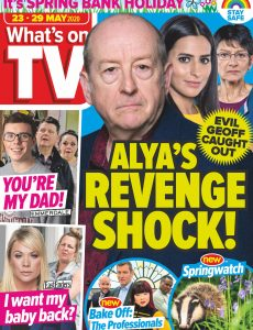 What's on TV – 23 May 2020