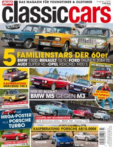 Auto Zeitung Classic Cars – August 2020