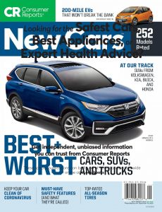 Consumer Reports New Cars – September 2020