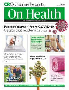 Consumer Reports On Health – June 2020