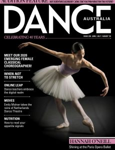 Dance Australia – June-Juy-August 2020