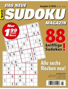 Das Neue Sudoku – Nr 5 2020