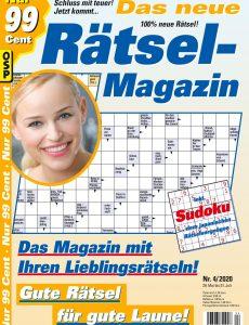 Das neue Rätsel-Magazin – Nr 4 2020