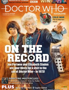Doctor Who Magazine – Issue 553 – August 2020