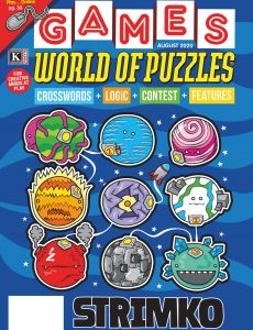 Games World of Puzzles – August 2020