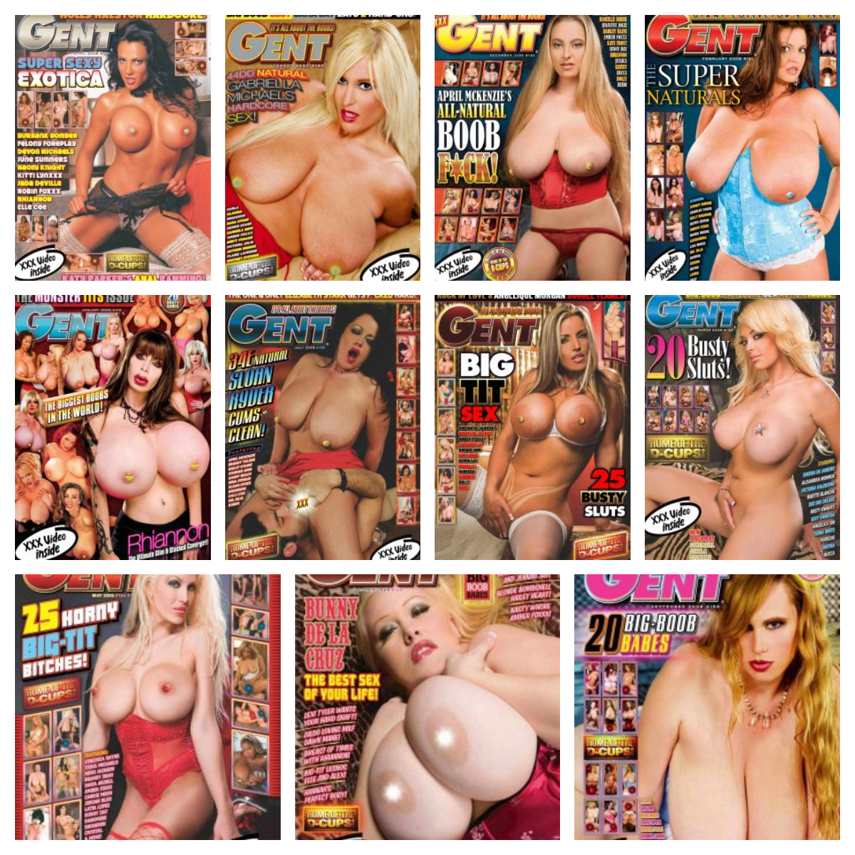 Gent Magazine – 2008 Full Year Issues Collection