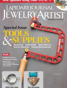 Lapidary Journal Jewelry Artist – July-August 2020