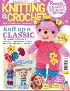 Let's Get Crafting Knitting & Crochet – June 2020