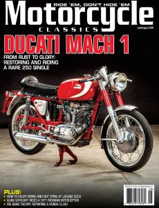 Motorcycle Classics – July-August 2020