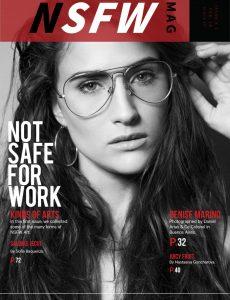 NSFW Magazine – Issue 1 Black Edition February 2018
