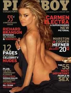 Playboy USA – January 2009