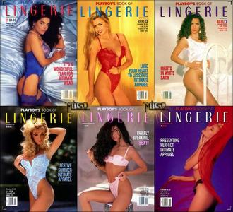Playboy's Lingerie – Full Year 1992 Issues Collection