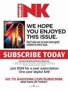 Radio Ink Magazine – June 22, 2020