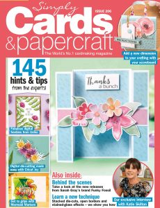 Simply Cards & Papercraft – Issue 206 – June 2020