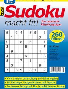 Sudoku macht fit – Nr 5 2020
