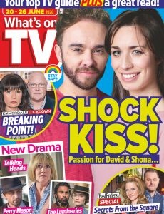 What's on TV – 20 June 2020