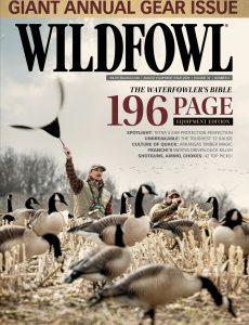 Wildfowl – August 2020