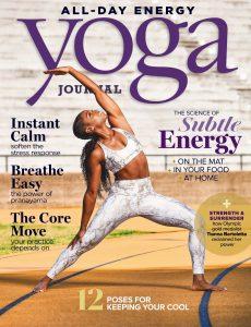 Yoga Journal USA – July 2020