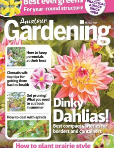 Amateur Gardening – 18 July 2020