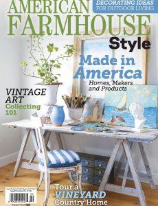 American Farmhouse Style – August-September 2020