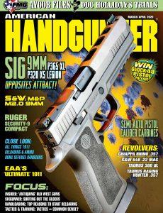 American Handgunner – March-April 2020
