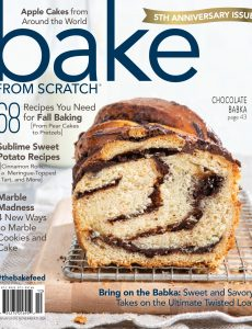 Bake from Scratch – September-October 2020