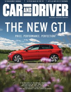 Car and Driver USA – August 2020