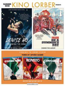 Cinema Scope – Summer 2020