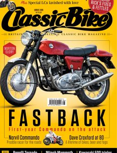 Classic Bike UK – August 2020