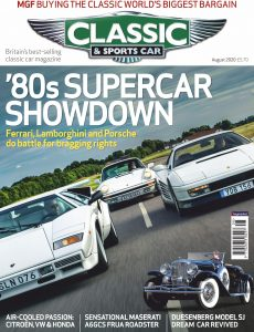 Classic & Sports Car UK – August 2020