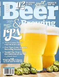 Craft Beer & Brewing – August-September 2020