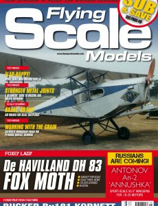 Flying Scale Models – August 2020