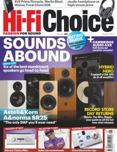 Hi-Fi Choice – August 2020