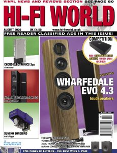 Hi-Fi World – August 2020