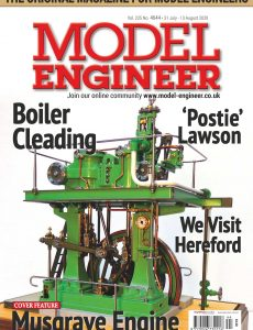 Model Engineer – Issue 4644 – 31 July 2020
