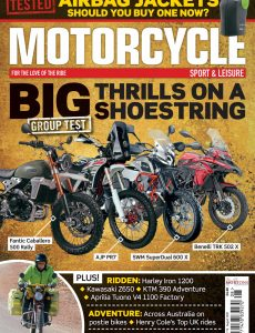 Motorcycle Sport & Leisure – August 2020