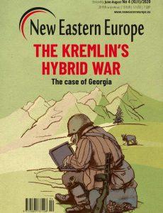 New Eastern Europe – June-August 2020