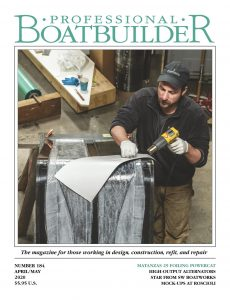 Professional BoatBuilder -April -May 2020