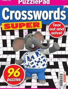 PuzzleLife PuzzlePad Crosswords Super – 16 July 2020