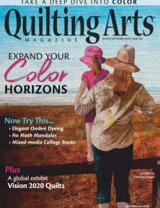 Quilting Arts – August-September 2020