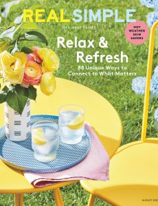 Real Simple – August 2020