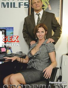 Sexy Secretary Nylon MILFs Adult Photo Magazine – July 2020